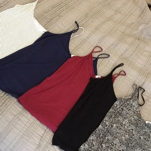 Tank top lot of 5